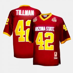 College Football #42 Red Youth Pat Tillman Arizona State Jersey