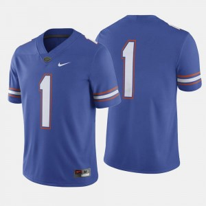 #1 Royal Blue College Football For Men Florida Jersey