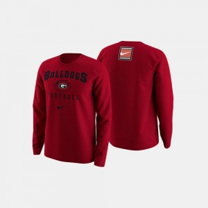 UGA Sweater College Football Retro Pack Mens Red