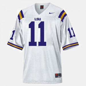 Spencer Ware LSU Jersey Mens College Football #11 White