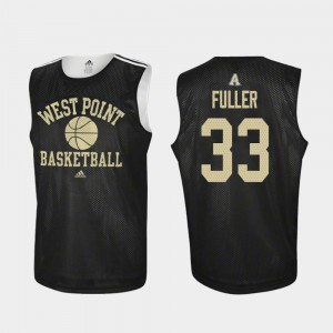 #33 Adidas College Basketball For Men Black Practice Cam Fuller Army Jersey