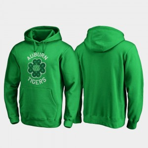 For Men's St. Patrick's Day Auburn Hoodie Kelly Green Luck Tradition Fanatics Branded