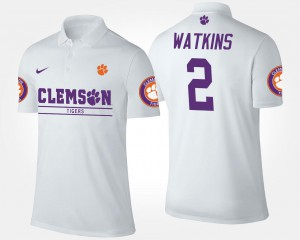 Name and Number White Men's #2 Sammy Watkins CFP Champs Polo