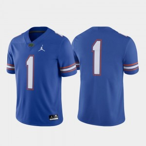UF Jersey Royal Football Nike #1 Game For Men's