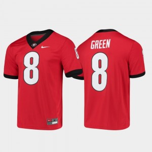 #8 Alumni Player College Football Red For Men's Game A.J. Green Georgia Jersey
