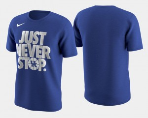 Wildcats T-Shirt March Madness Selection Sunday Royal Basketball Tournament Just Never Stop Mens