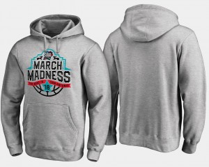 Men March Madness Hoodie Basketball Tournament Final Four Tipoff Gray
