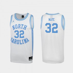 March Madness For Men White #32 Special College Basketball Luke Maye North Carolina Tar Heels Jersey