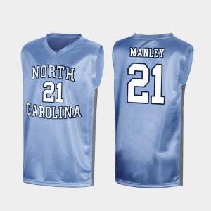 #21 Sterling Manley North Carolina Tar Heels Jersey For Men Royal Special College Basketball March Madness