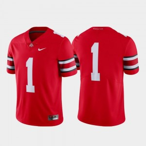 Limited Scarlet College Football Nike Ohio State Jersey #1 For Men's