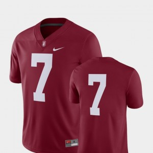 Cardinal 2018 Game Nike College Football Stanford University Jersey For Men's #7