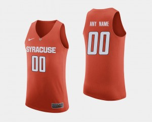 College Basketball #00 For Men's Orange Syracuse Customized Jersey