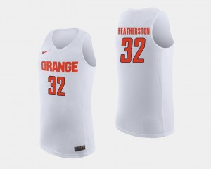 White #32 Ray Featherston Cuse Jersey For Men College Basketball