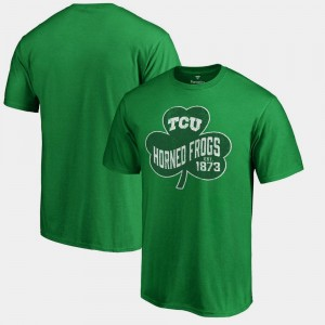 St. Patrick's Day For Men Kelly Green Paddy's Pride Big & Tall Texas Christian T-Shirt