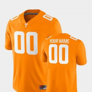 #00 UT Customized Jersey College Football Mens 2018 Game Nike Tennessee Orange