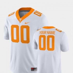 #00 Mens Tennessee Customized Jerseys College Football White 2018 Game Nike