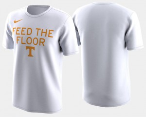 2018 March Madness Bench Legend Performance Tennessee Volunteers T-Shirt Men's Basketball Tournament White