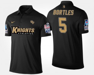 #5 Navy American Athletic Conference Peach Bowl Name and Number Blake Bortles UCF Knights Polo Mens Bowl Game