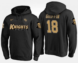 Name and Number Shaquem Griffin UCF Knights Hoodie #18 Mens Black