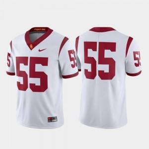 #55 USC Jersey Football Nike Mens Limited White
