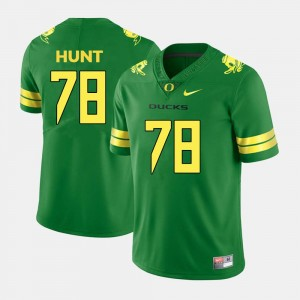 #78 Mens College Football Cameron Hunt UO Jersey Green