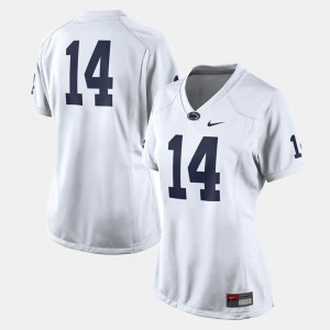 For Women's Penn State Jersey White #14 College Football