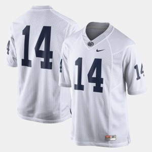 College Football White Penn State Nittany Lions Jersey For Men #14