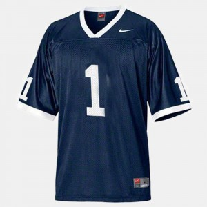 Joe Paterno Penn State Nittany Lions Jersey Blue #1 For Men College Football