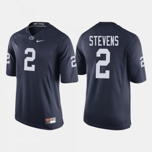 Mens #2 Navy Tommy Stevens Nittany Lions Jersey College Football
