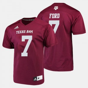 Keith Ford Texas A&M Jersey Maroon Men College Football #7
