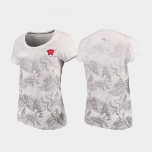 Floral Victory White Ladies UW T-Shirt Tommy Bahama