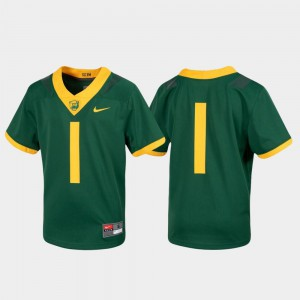 Untouchable Green Baylor University Jersey #1 Youth Football