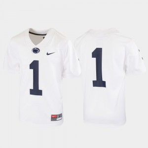 For Kids Nittany Lions Jersey Untouchable #1 Football White