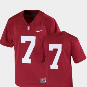 College Football Stanford Cardinal Jersey Team Replica Nike #7 Cardinal Youth