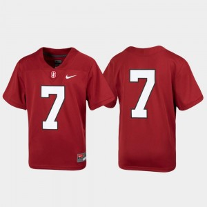 Stanford Cardinal Jersey Untouchable Cardinal Youth #7 Football