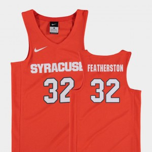 Orange #32 Replica For Kids College Basketball Ray Featherston Syracuse University Jersey