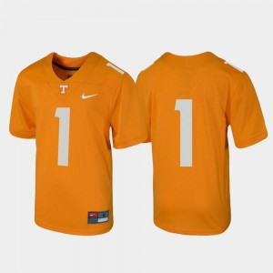 Football #1 Tennessee Orange For Kids Vols Jersey Untouchable